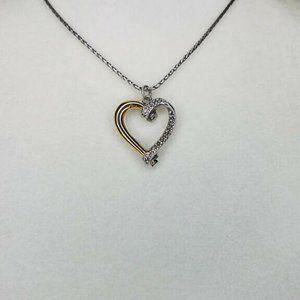 "Brighton Open Reversible Heart 16"" Necklace"